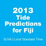 2013 Fiji Tide Tables