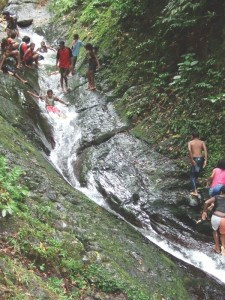 Taveuni waterslide