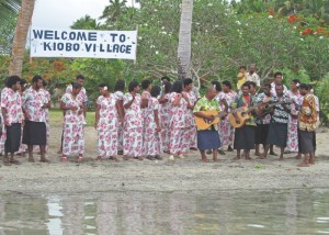 Kiobo Welcome at Namena Marine Reserve