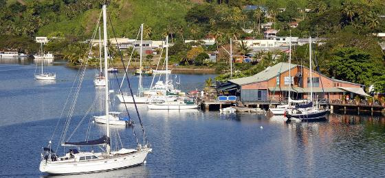 The Copra Shed Marina At Savusavu