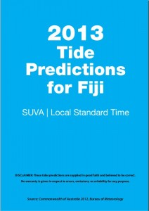 Fiji Tide Predictions 2013