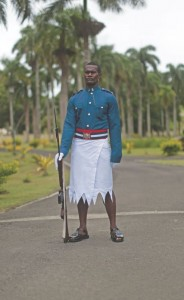 Fiji Government guard