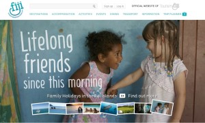 Tourism Fiji Website