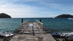 Arrival Jetty at Makogai