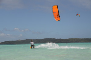 Kitesurfing @ Safari Lodge