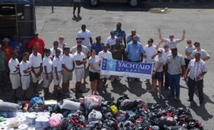 Yacht Aid Global comes to Fiji in the wake of Cyclone Evan